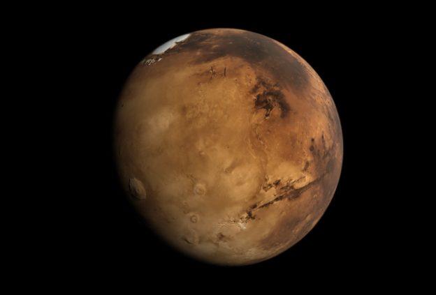 科学家模拟了地震波在火星上的传播路径缩略图