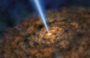超大质量黑洞周围也许也存在生命宜居带插图