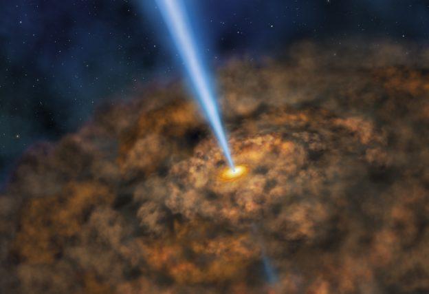 超大质量黑洞周围也许也存在生命宜居带缩略图