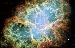 能量最强的蟹状星云伽马射线撞击地球,能量是大型强子对撞机的十倍插图