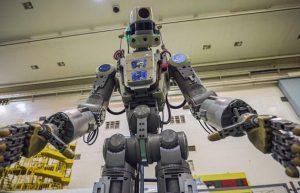 俄罗斯将机器人送上国际空间站插图