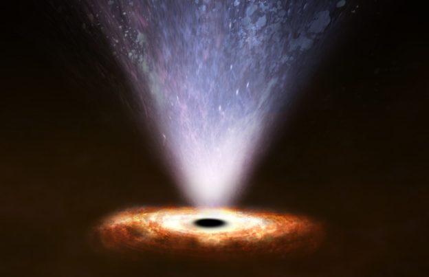 找到活跃星系核第三种类型喷流,强劲黑洞风能改造宿主星系