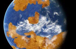 研究表明金星可能曾经有过温和的气候插图