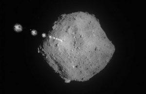 隼鸟2号释放机器人降落在小行星表面,将于2020年返回地球插图