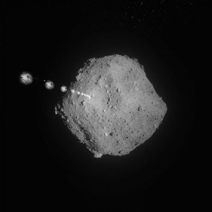 隼鸟2号释放机器人降落在小行星表面,将于2020年返回地球缩略图