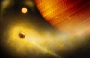 可能发现如星际大战的穆斯塔法星,布满火山的系外卫星插图