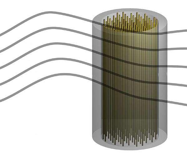 图说 研究人员提出了一种使用可调电浆搜索暗物质轴子的新仪器。