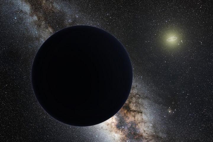 传言中的太阳系第九大行星也许是一个棒球大小的原初黑洞插图