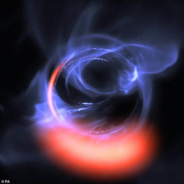 科学家发现有些行星可能围绕着一个超大质量黑洞而不是恒星运行插图