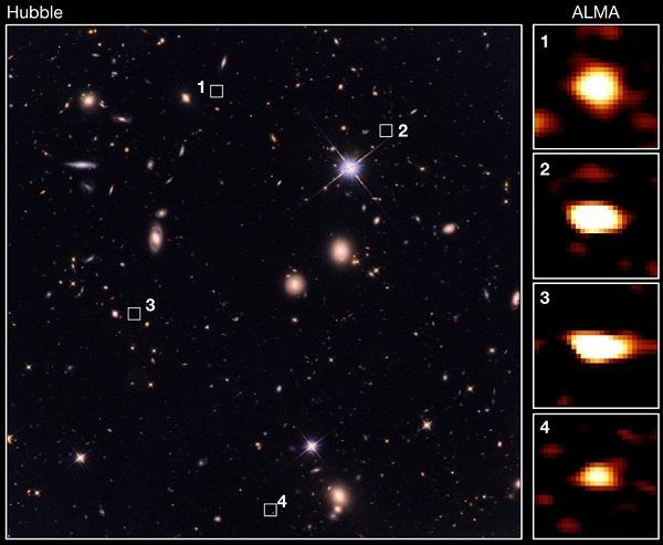 宇宙诞生后20 亿年内,新发现39 个大质量远古星系插图2
