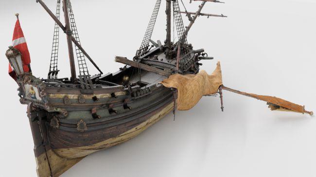 """7世纪荷兰海盗船沉船在虚拟现实(VR)中栩栩如生"""""""