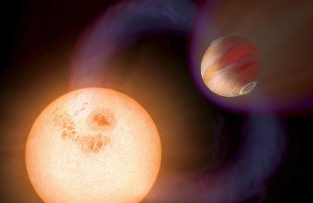 热木星不但体型巨大,而且磁场强度比地球大100倍插图