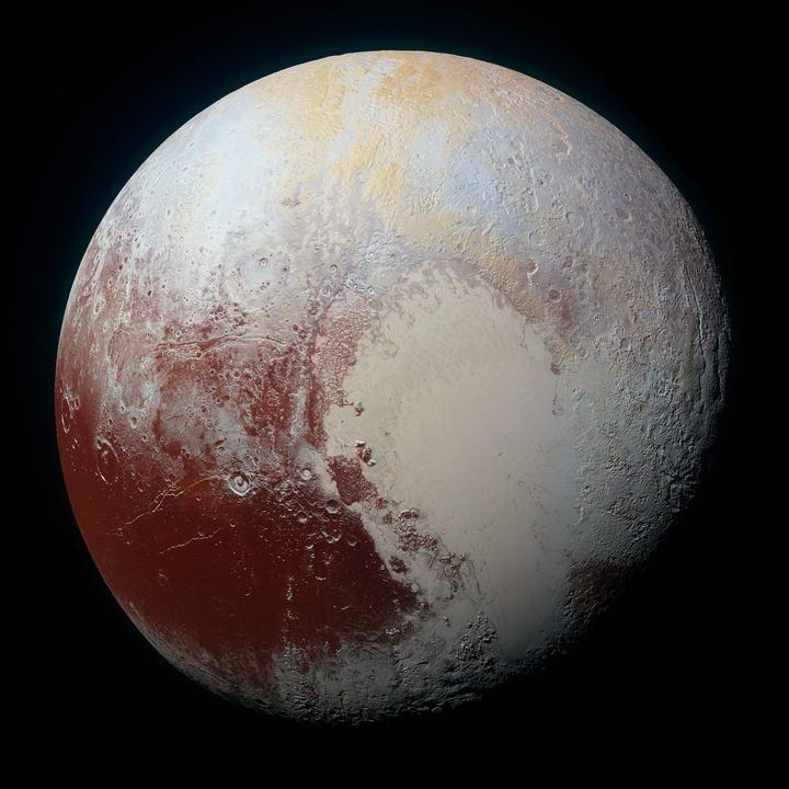 自九大行星中除名的冥王星插图
