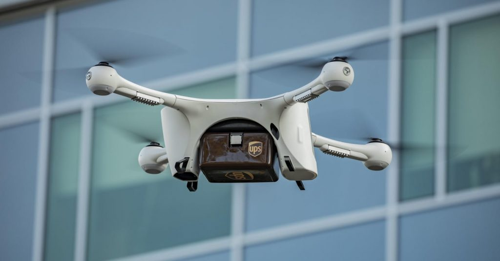 无人机送货:UPS成立子公司专注于无人机