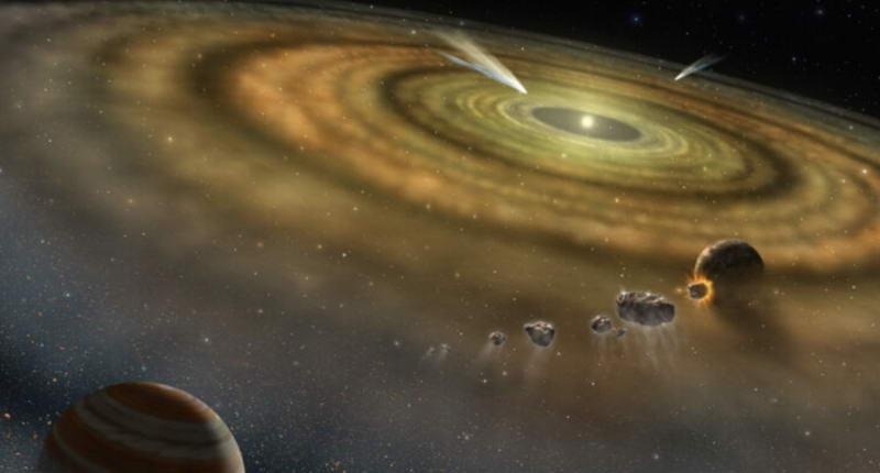 太阳系形成时间只用了20万年,远比之前猜测的短