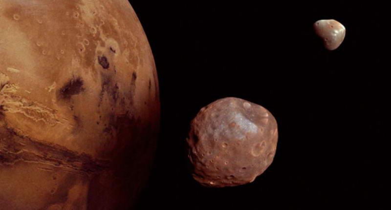 一颗火星特洛伊小行星可能是月球分裂出去的