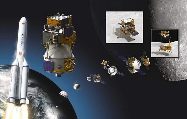 嫦娥5号11月24日顺利升空将执行月球采样任务