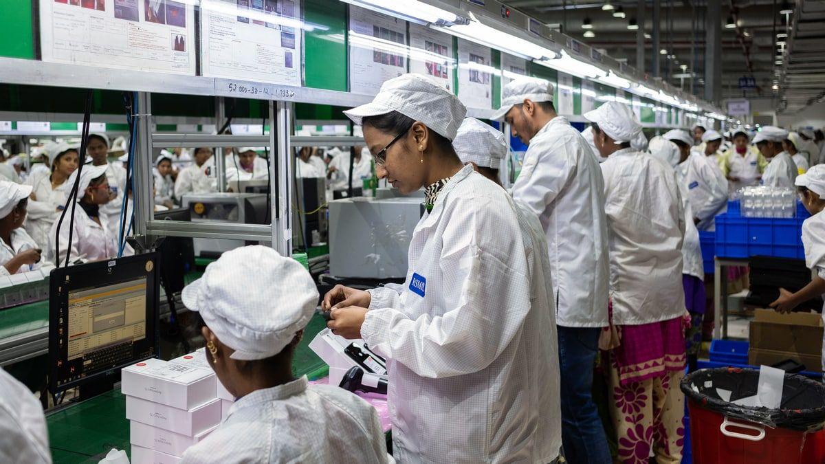 台商和硕在印度投资1.5亿美元建苹果代工厂