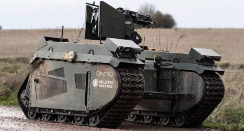 机器人崛起?英国军方招募数以万计的机器人来建立军队