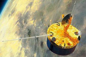 先锋-金星1号探测器示意图