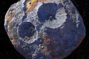 科学家发现一颗价值10万亿美元的金属小行星: 16Psyche(普赛克16)缩略图