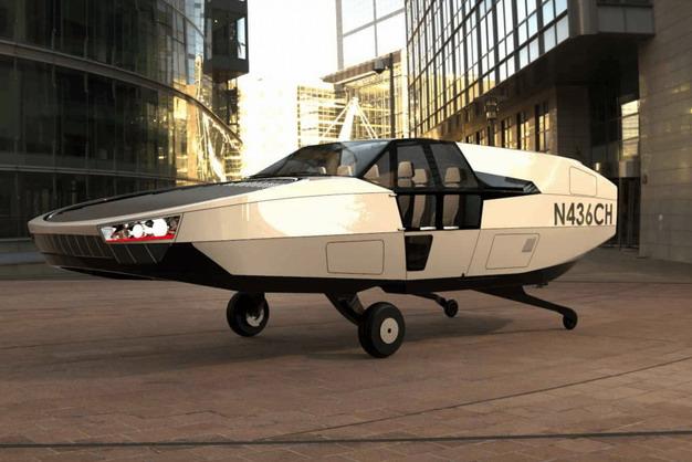 以色列飞天汽车,造型奇似《回到未来》时光机