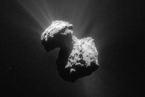 科学家在67P彗星上发现了极光:肉眼不可见的远紫外光缩略图
