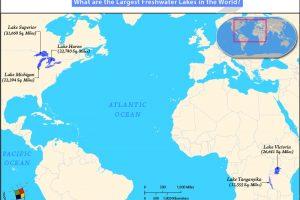 世界上面积最大的淡水湖泊是哪个?【世界五大淡水湖】缩略图