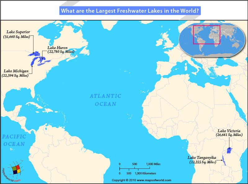 世界上面积最大的淡水湖泊是哪个?【世界五大淡水湖】
