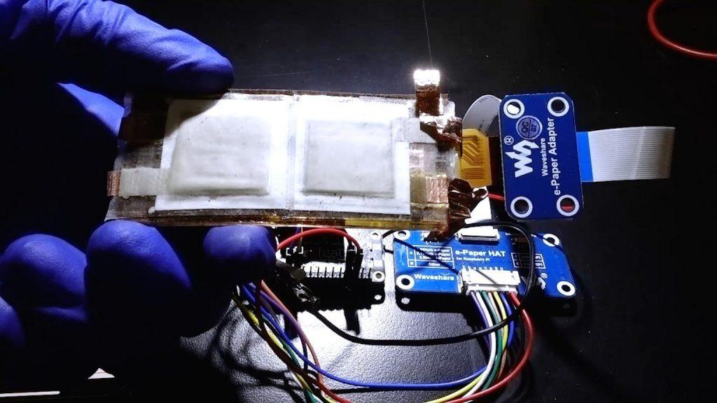 新型柔性电池可充电氧化银锌电池能量密度比锂电池高十倍
