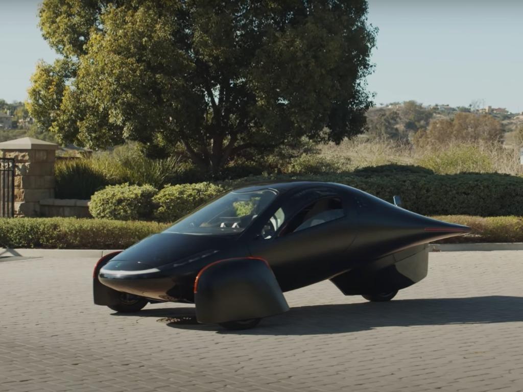 太阳能电动汽车Aptera每天充电能开60km插图