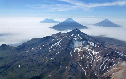 阿拉斯加的阿留申群岛可能是一座超级火山的一部分