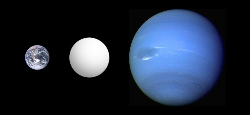 超级地球是指的重量介于地球和海王星之间的岩石星球