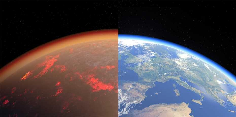 科学家通过实验重现45亿年前的地球原始大气