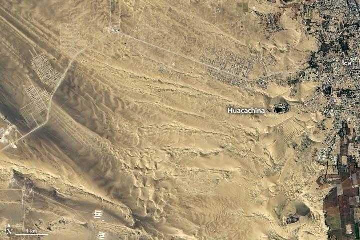 秘鲁瓦卡奇纳绿洲(Huacachina):南美洲唯一的绿洲插图