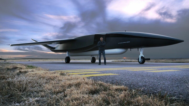Ravn X无人飞机和创始人Jay Skylus