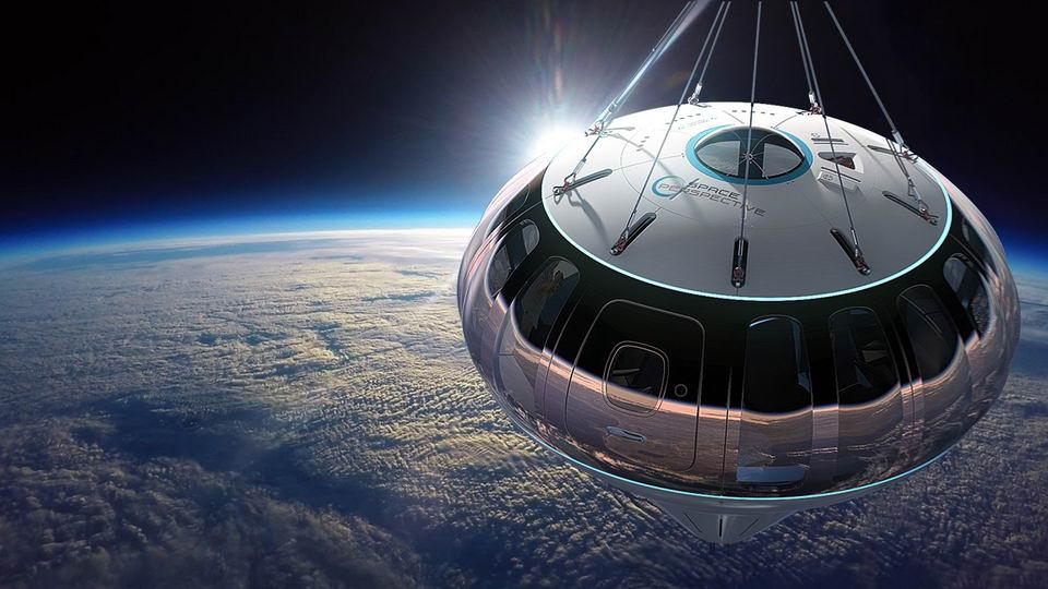太空气球带乘客到30公里高空看地球,只要12.5万美元插图6