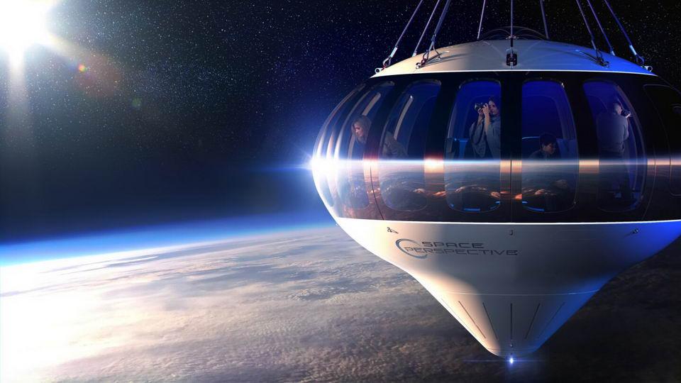 太空气球带乘客到30公里高空看地球,只要12.5万美元插图