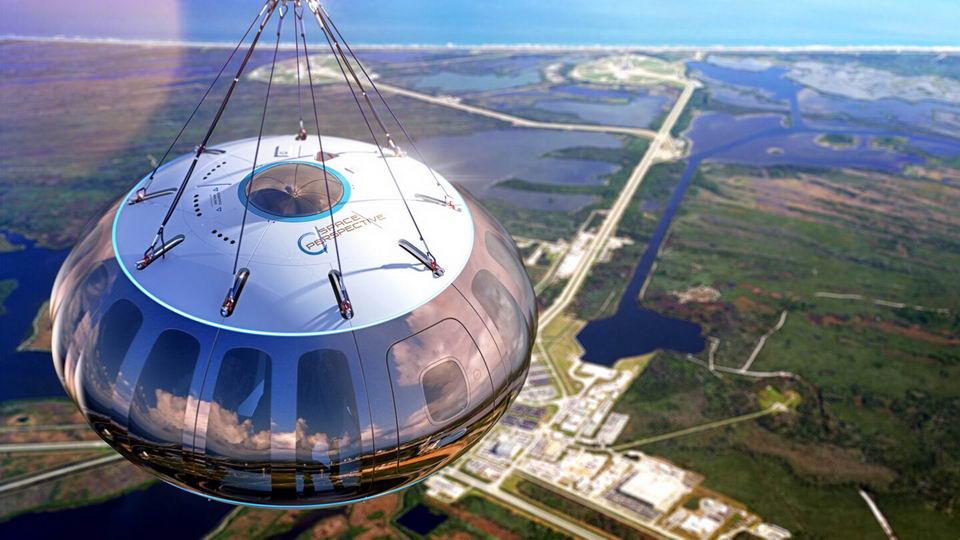太空气球带乘客到30公里高空看地球,只要12.5万美元插图2