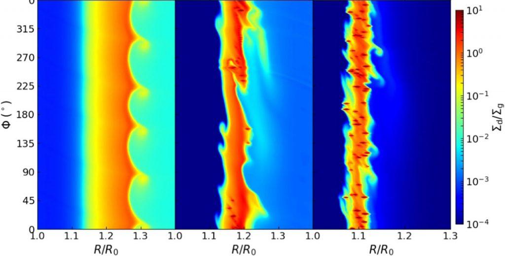 我国科学家用软件模拟了新生恒星周围盘面结构的演化
