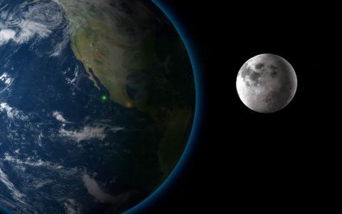 当月球突然变大100倍会发生什么?