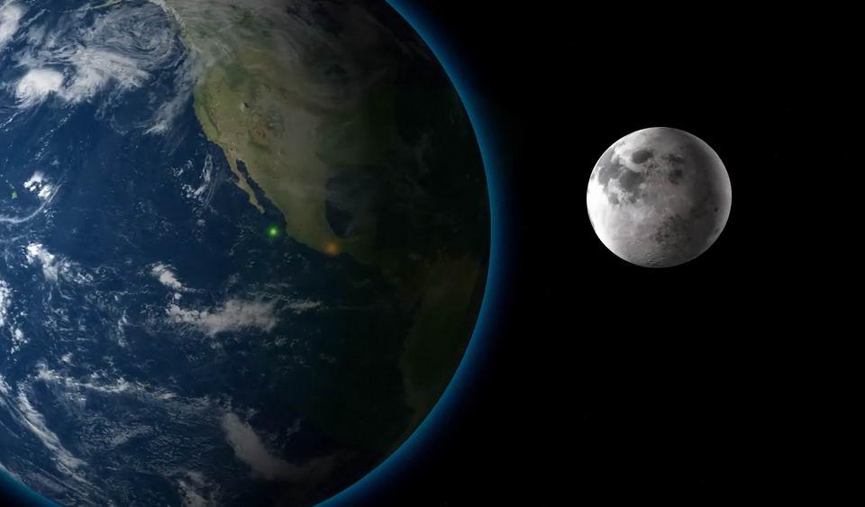 当月球突然变大100倍会发生什么?插图