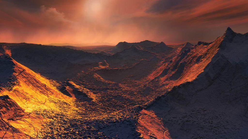 科学家设想在巴纳德星有一颗甚至是几颗处于宜居带的行星,可以供人类未来殖民居住