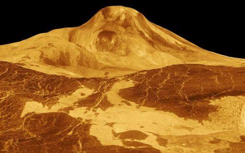 太阳系各大星球上最高峰对比