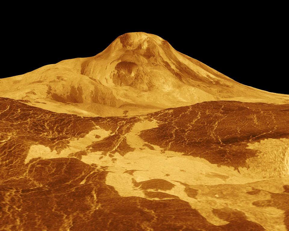 金星最高峰:麦克斯韦山