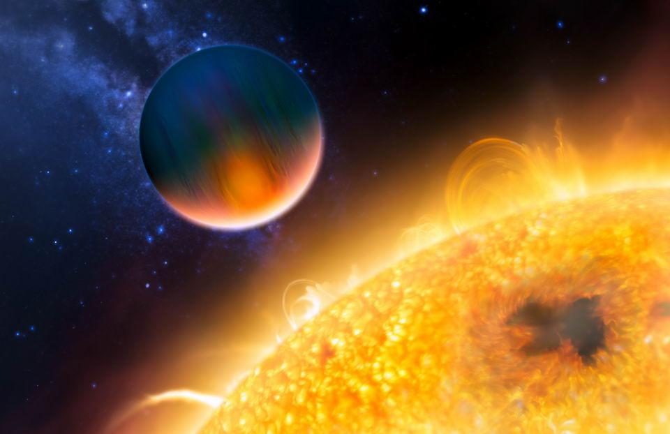 HD 189733b:风速达到8700公里/小时的热木星