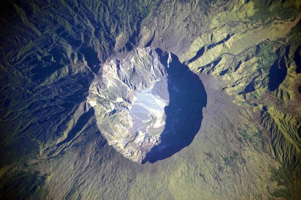 有记录以来最猛烈的一次火山喷发:坦博拉火山
