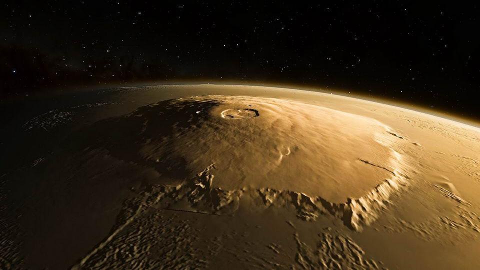 攀登太阳系最高的山——奥林匹斯山是一种什么体验?
