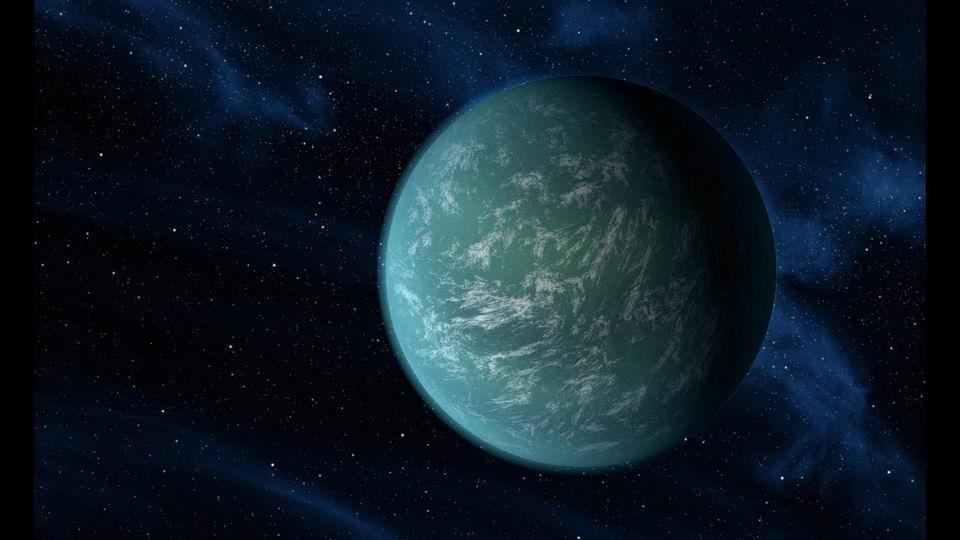 一颗假想中的高引力星球