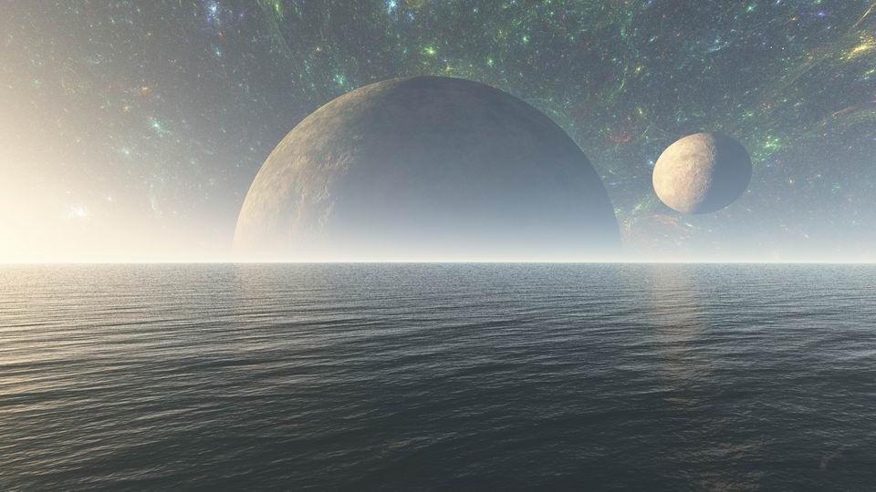 高引力星球上的生命大概率会生活在水中不会上岸,一辈子生活在海洋表层
